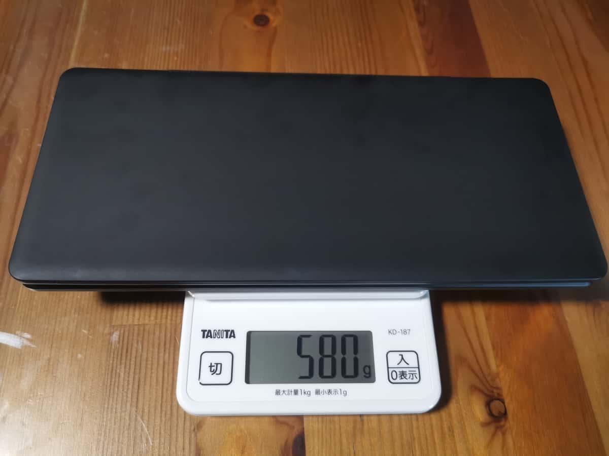 ポメラDM200_重量