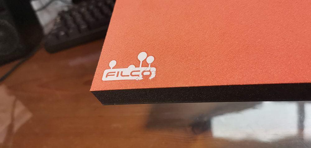FILCO パームレストのロゴ