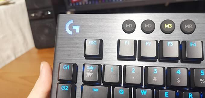 Logicool G913の材質
