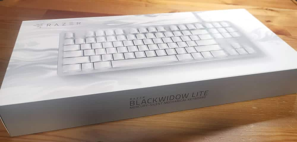 Razer BlackWidow Liteのパッケージ