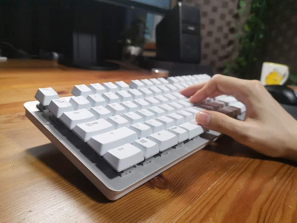 意外と大事なキーボードの角度