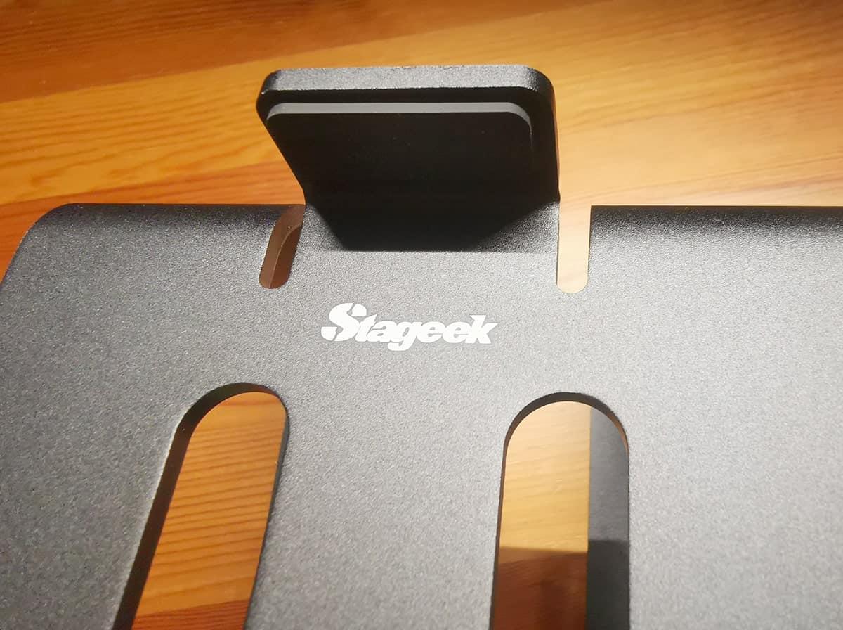 Stageek スピーカースタンドの質感