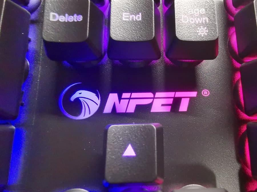 NPET K10のロゴマーク