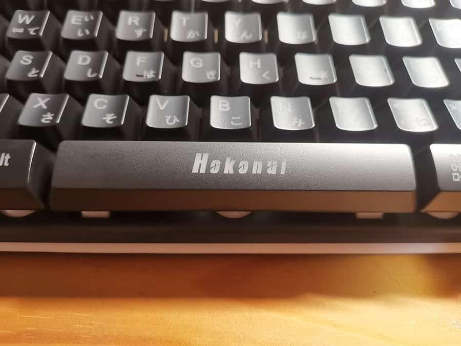 HOKONUI キーボードのスペースキー