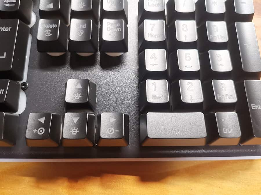 HOKONUI キーボードの矢印キー上