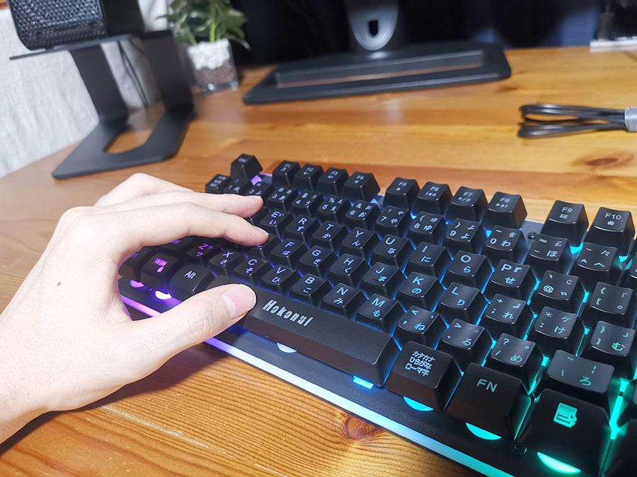 HOKONUI キーボードの使用感