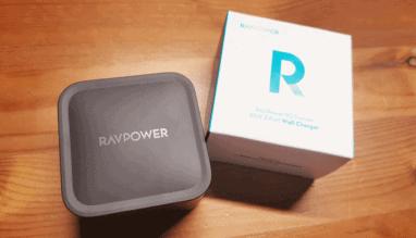 【RAVPower RP-PC133レビュー】2台同時に急速充電! 小型で持ち運びも超簡単。