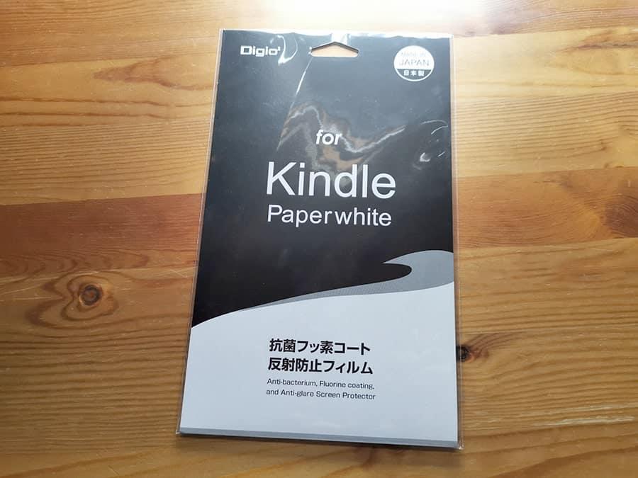 Kindle Paperwhiteの液晶シール