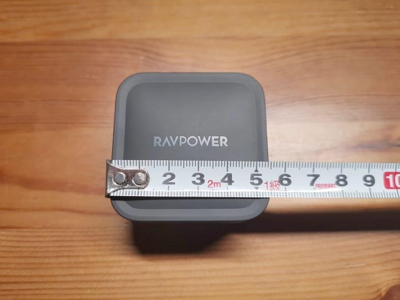 RAVPower RP-PC133の横幅