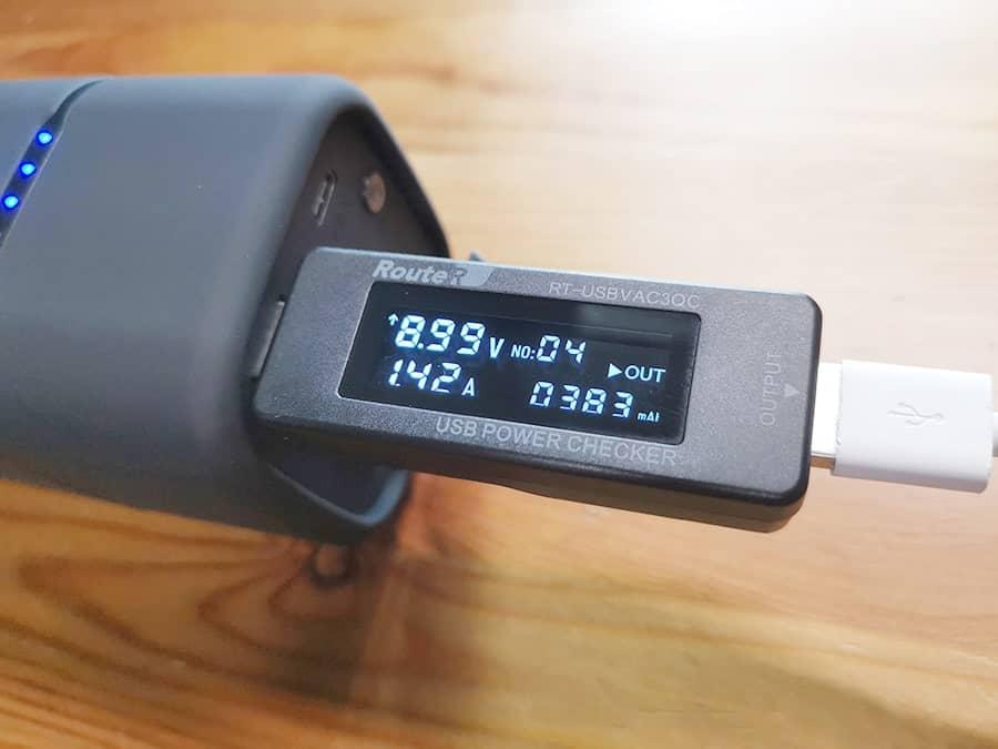 RAVPower RP-PB054proのUSB-A