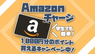 【誰でも簡単】Amazonチャージで1000円分のポイントが貰えるキャンペーンを徹底解説!【2020年】