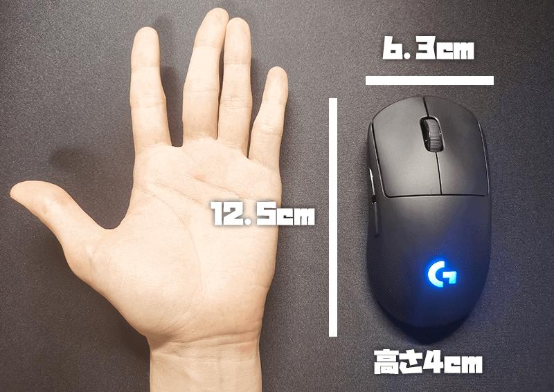 GproWLのサイズ比較