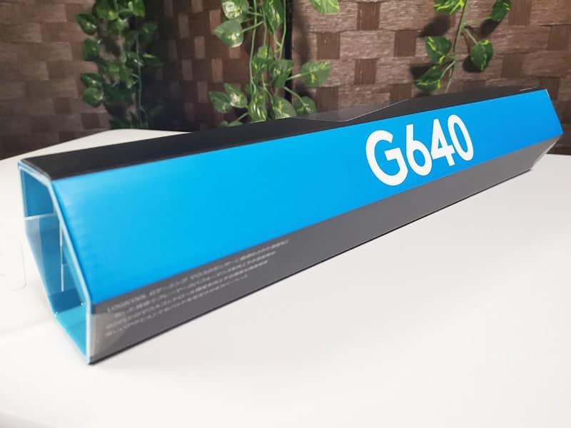 G640rのパッケージ