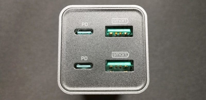 RP-PC136の充電ポート