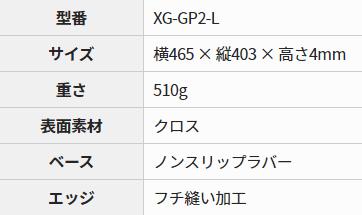 Xtrfy GP2のステータス